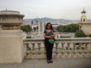 Terri in Barcelona