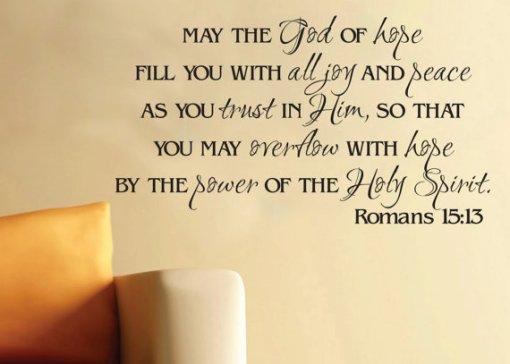 Romans 15_ 13 candles