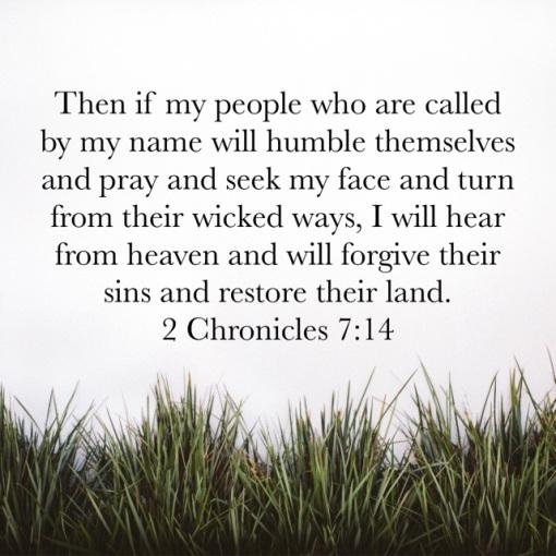 II Chronicles 7_14