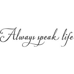 speak life pic