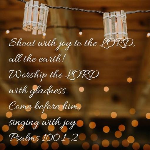 Psalm 100.1.2