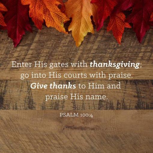 Psalm 100.4